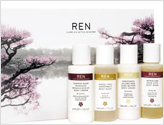 Ren beauty products, luxury natural skincare