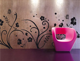 Wall Stickers, Eco-Chic Interior Decorating