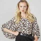 Cute graphic print top make from organic and fairtrade cotton by Eley Kishimoto for People Tree