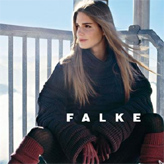 Falke ribbed eco-friendly cotton / cashmere mix tights for super luxe feel.
