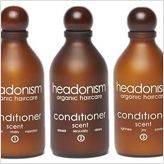 Headonism natural hair conditioners come in 3 divine scents and are free from synthetic fragrance and harsh detergents.
