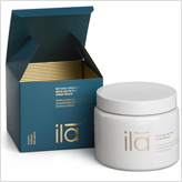 Ila uber-luxe organic bath salts scented with rose, sandalwood and jasmine.
