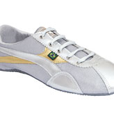 Cute silver & gold ethical pumps by fairtrade footwear brand Jinga. Buy stylish ethical shoes at StyleWillSaveUs.com