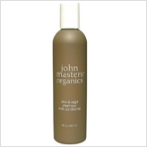 John Masters Organic Zinc & Sage Shampoo with Conditioner. Luxury organic haircare products.