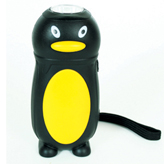 Energy-saving LED torch in the style of a penguin! Penguine Eco Torch.